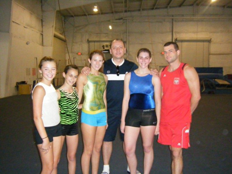 Gymnastic clinic 2012 - Orlando, USA 2012